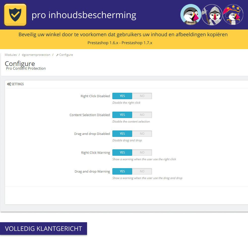 module - Veiligheid & Toegang - Pro Content Protection - Bescherm uw inhoud - 3