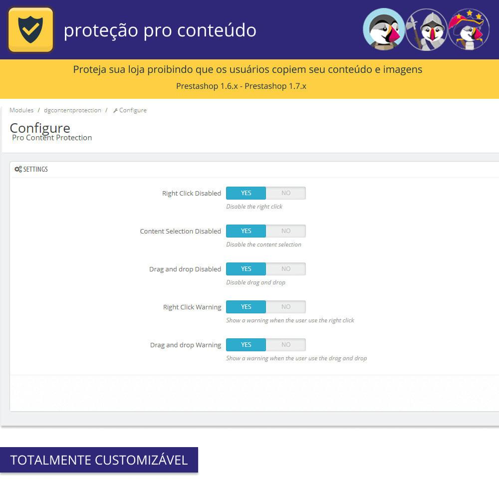 module - Segurança & Acesso - Proteção de conteúdo pro - proteja seu conteúdo - 3