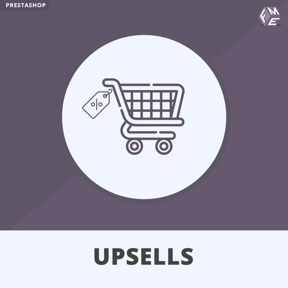 module - Cross-Selling & Produktbundles - Upsell-Produkte - Push on Cart - 1