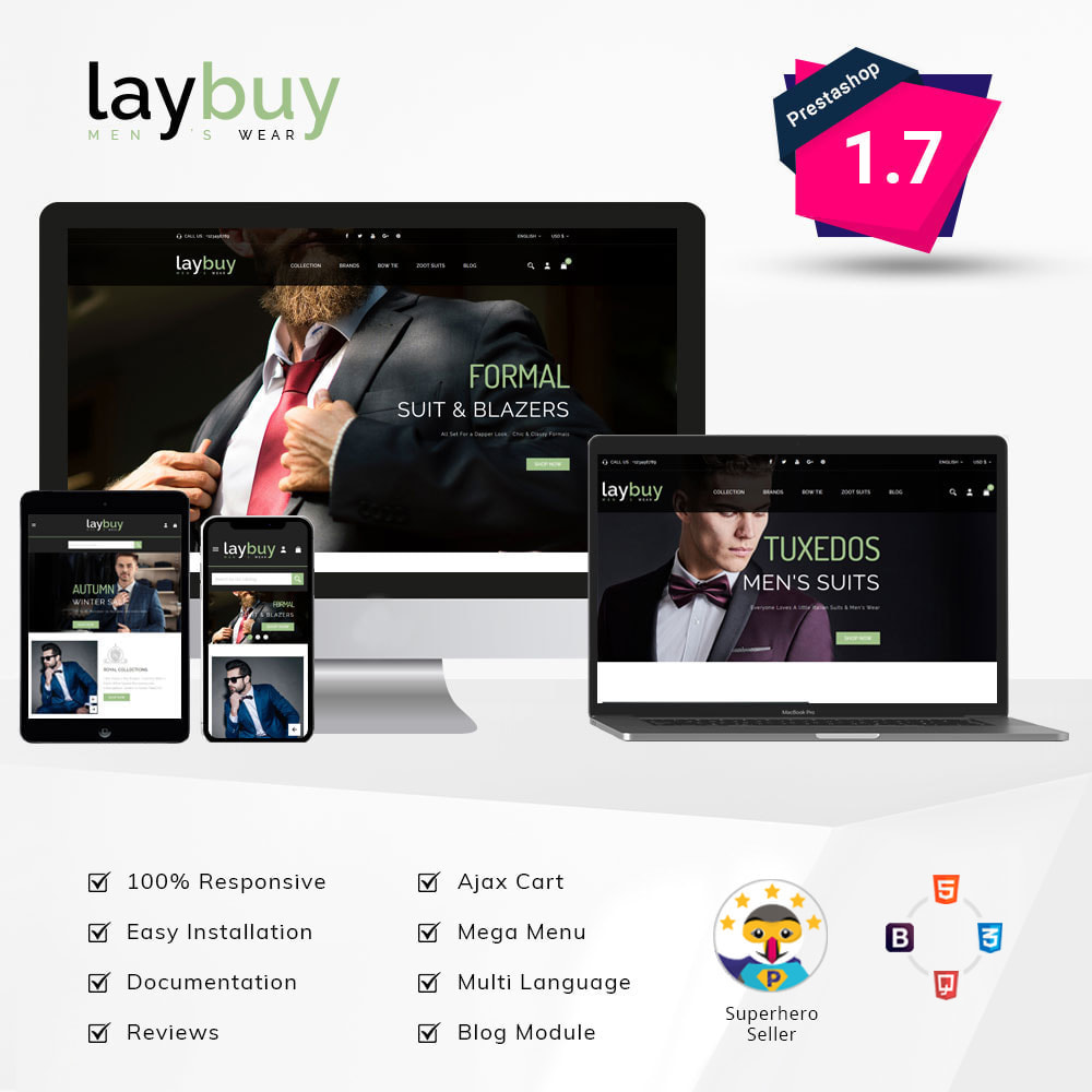 theme - Fashion & Shoes - Laybuy - Fashion Store - 1