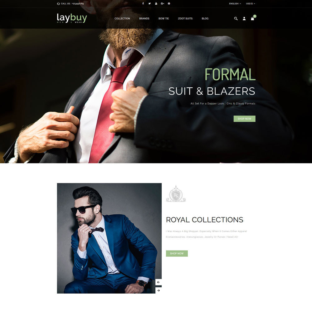 theme - Fashion & Shoes - Laybuy - Fashion Store - 2