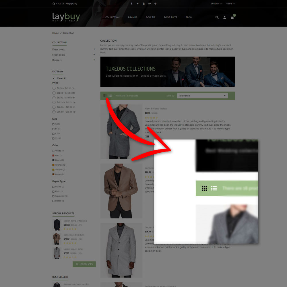 theme - Mode & Schuhe - Laybuy - Fashion Store - 7