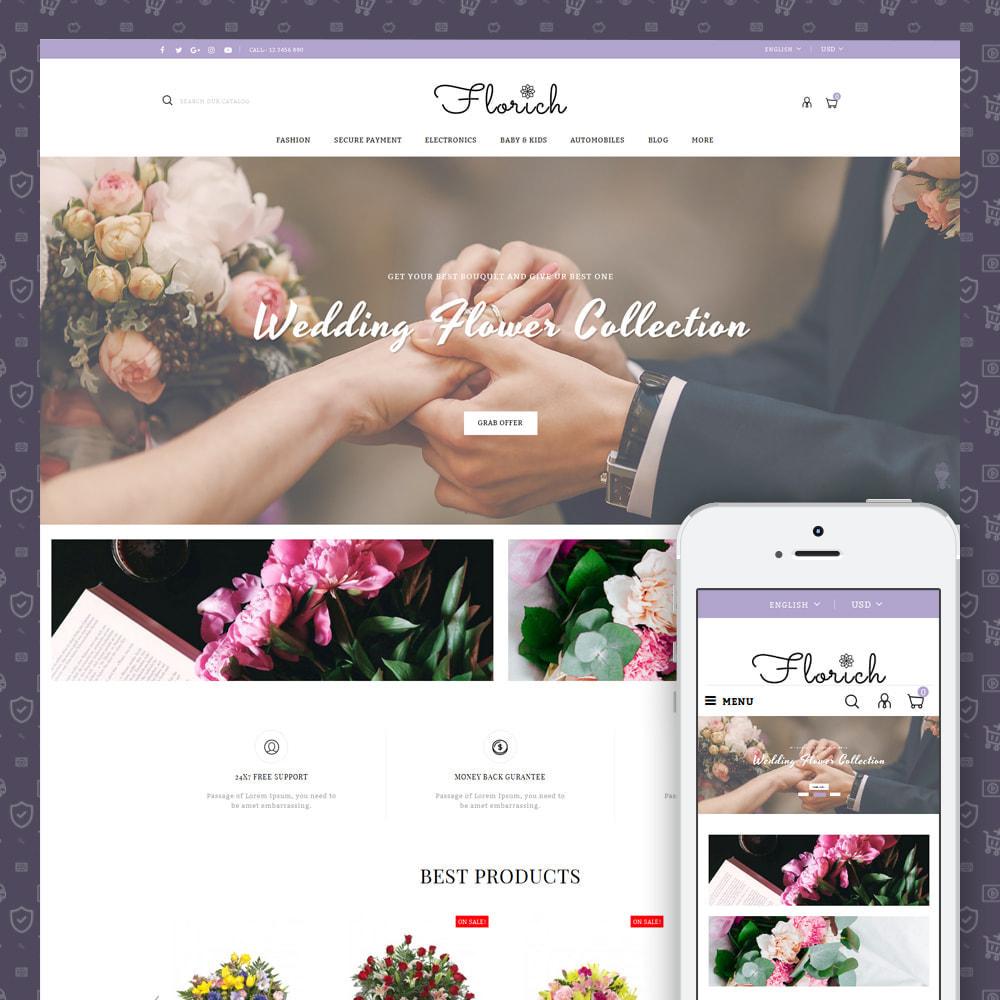 theme - Cadeaus, Bloemen & Gelegenheden - Florich - Wedding Flowers Store - 1