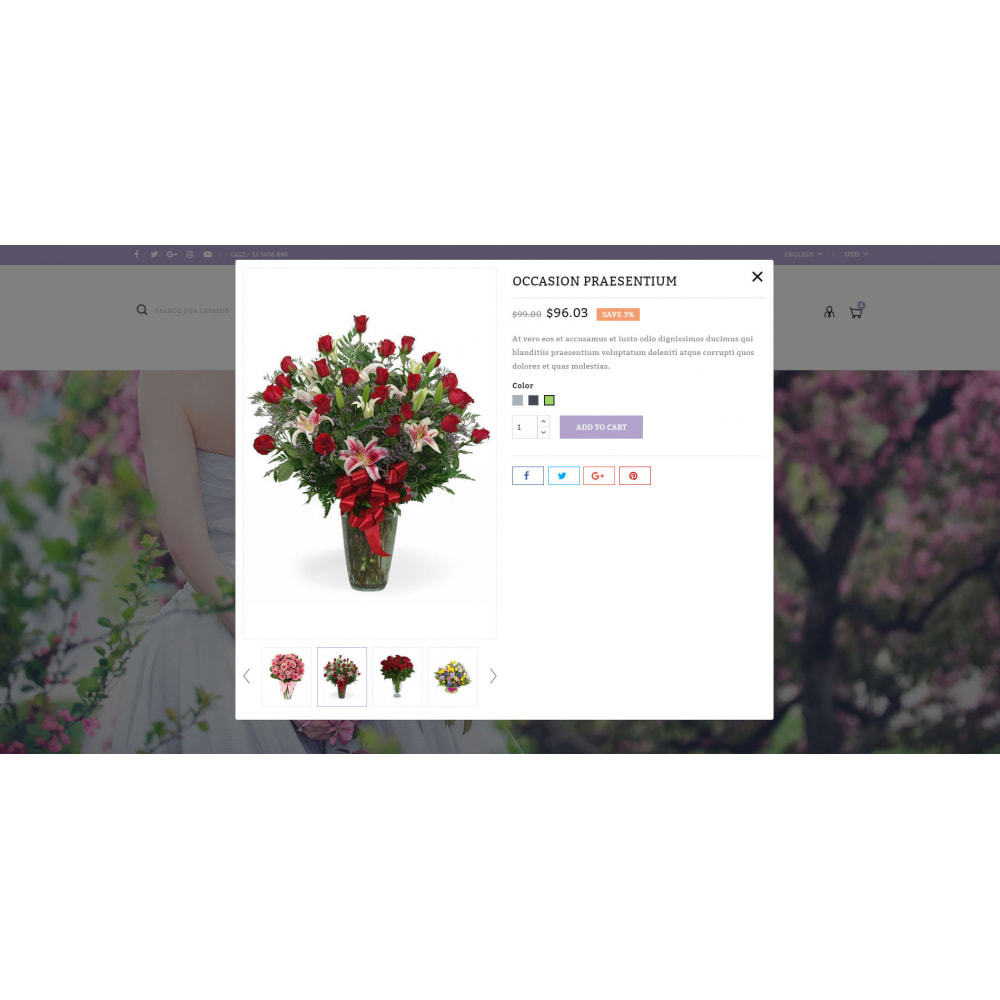 theme - Gifts, Flowers & Celebrations - Florich - Wedding Flowers Store - 7