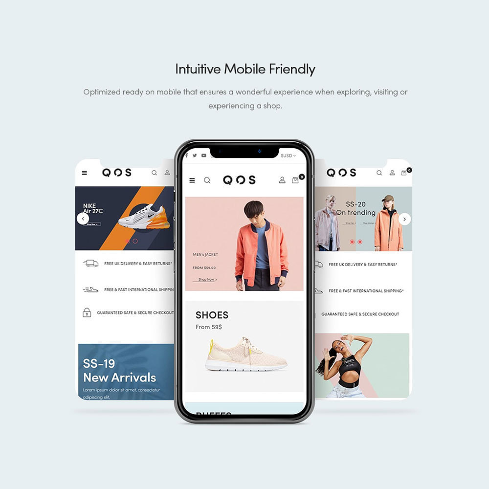 theme - Мода и обувь - Leo QOS Fashion Ecommerce - 3