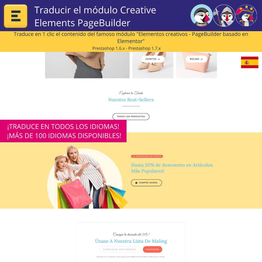 module - Internacionalización y Localización - Traducir el Creative Elements PageBuilder - 4