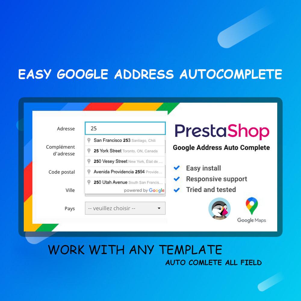 module - Registration & Ordering Process - Google address auto complete - 1