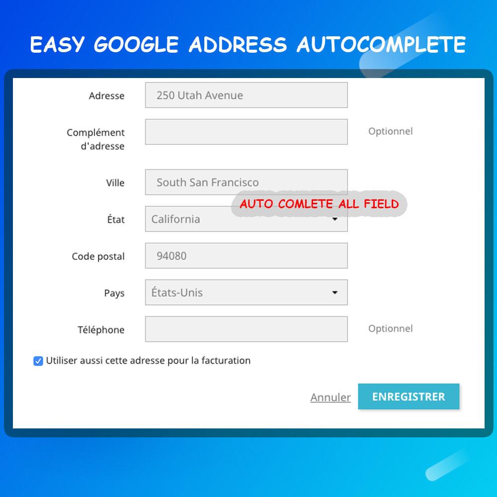 module - Registration & Ordering Process - Google address auto complete - 3
