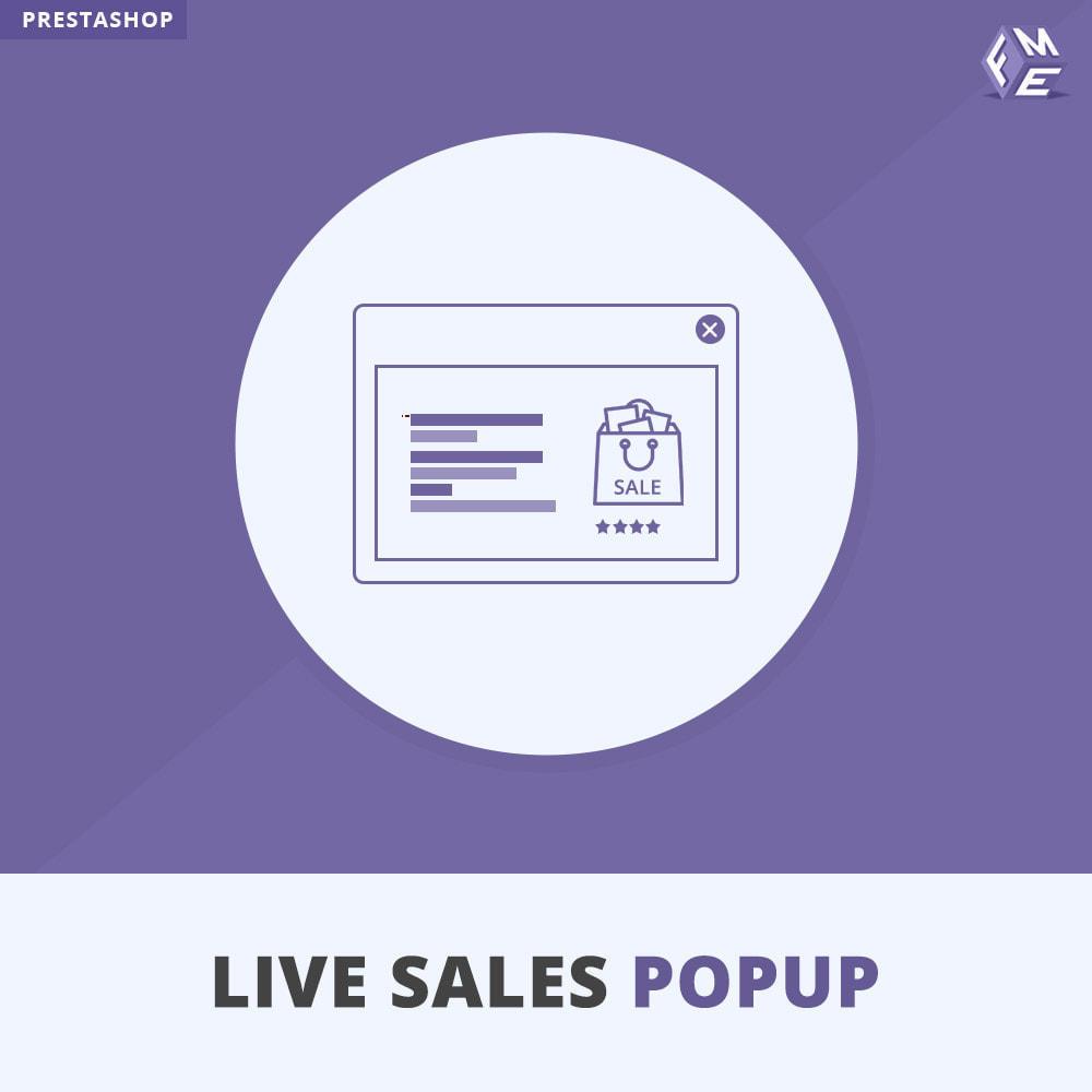 module - Dialoogvensters & Pop-ups - Live Sales Popup - 1