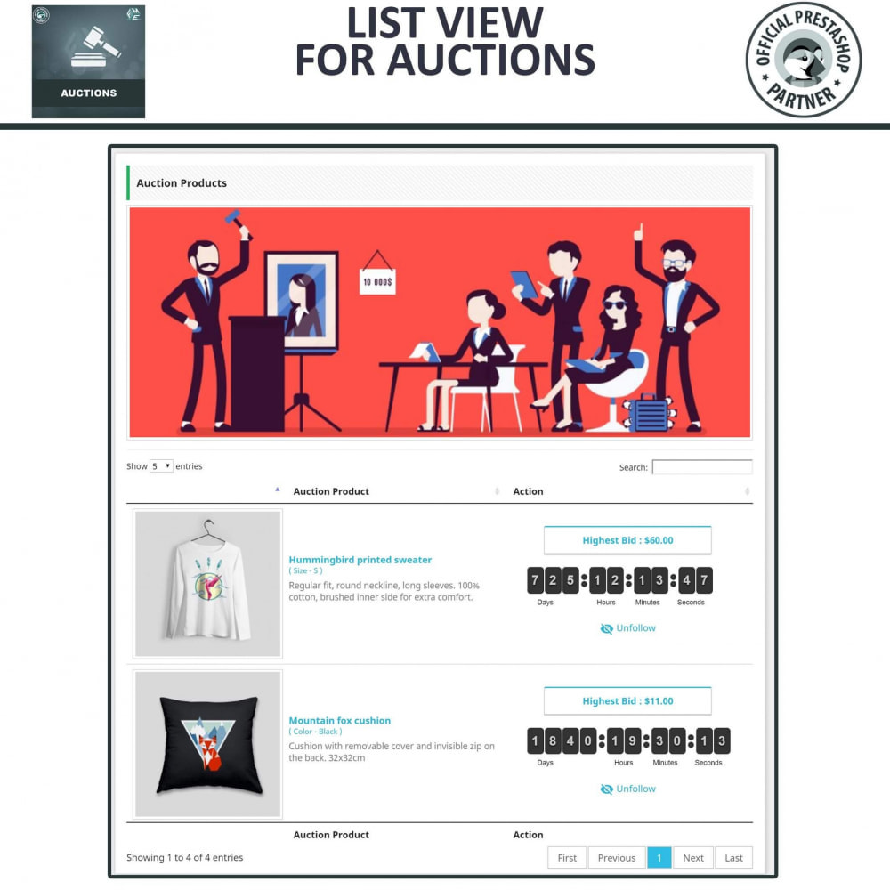 module - Auction Site - Auction Pro, Online Auctions & Bidding - 6