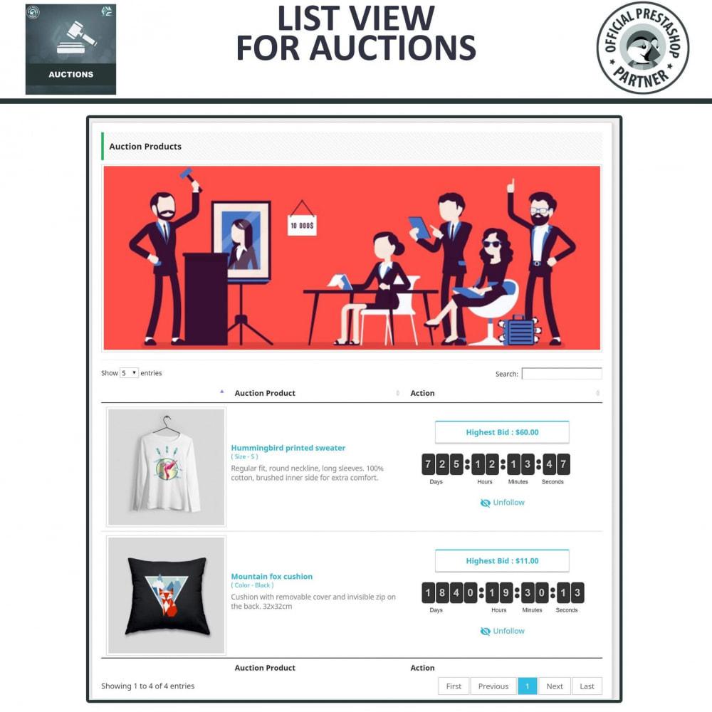 module - Criar um site de leilão - Auction Pro, Online Auctions & Bidding - 5