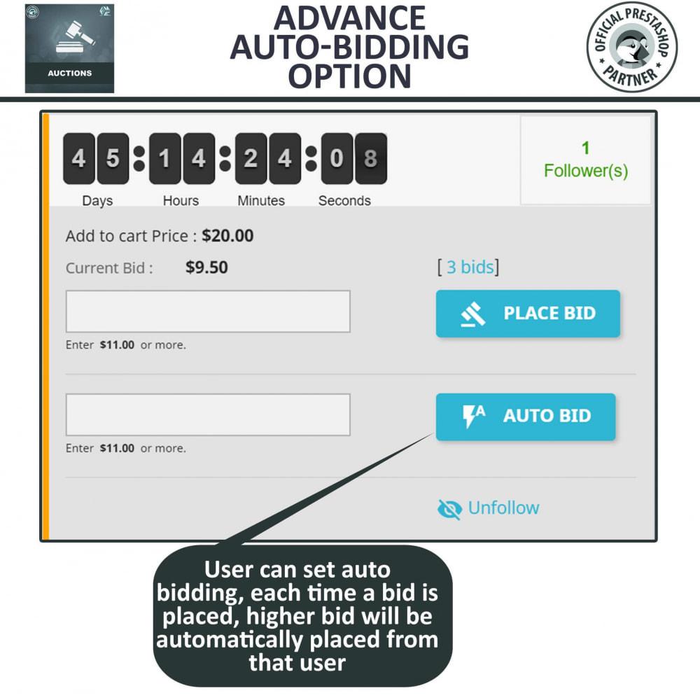 module - Criar um site de leilão - Auction Pro, Online Auctions & Bidding - 8