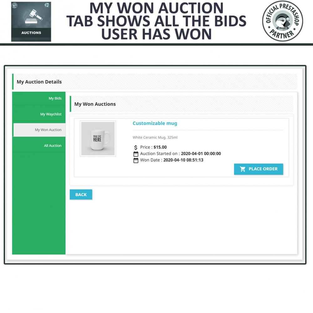 module - Auction Site - Auction Pro, Online Auctions & Bidding - 12