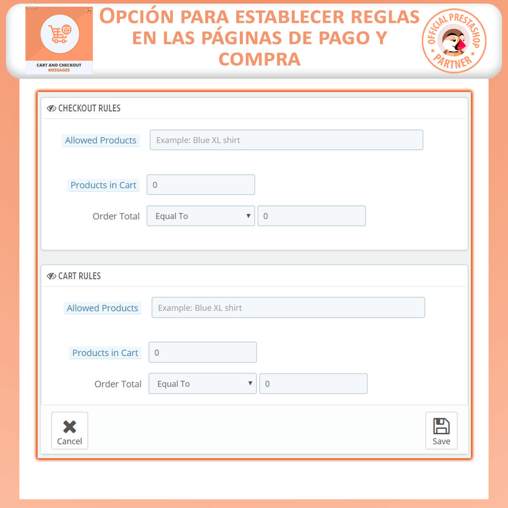 module - Inscripción y Proceso del pedido - Carro y Revisa Mensajes - 7
