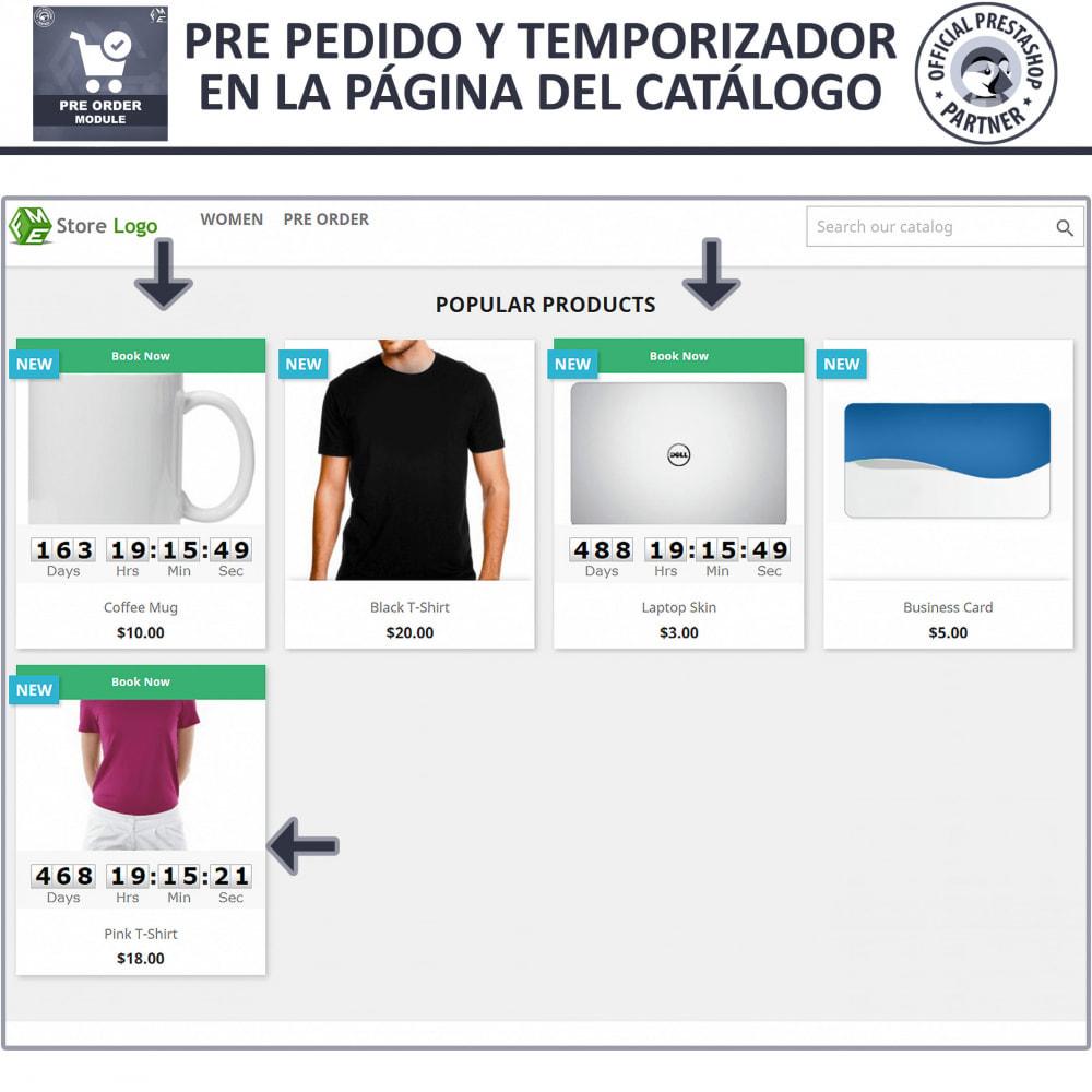 module - Inscripción y Proceso del pedido - Pre-orden y Lista de Espera - 2