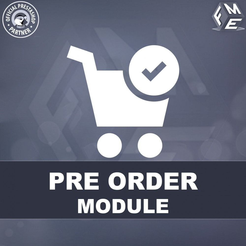 module - Registration & Ordering Process - Pre Order - Advance Booking - 1