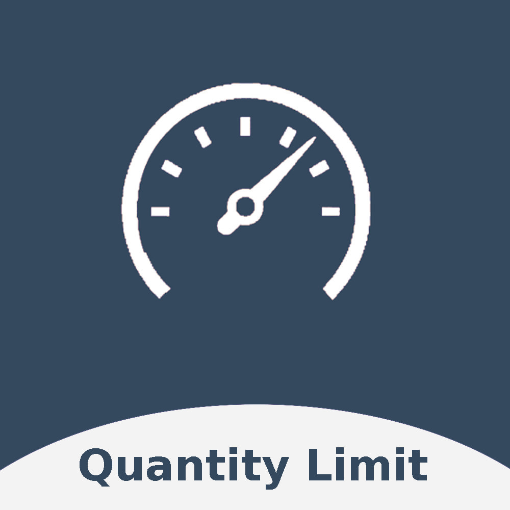 module - Anmeldung und Bestellvorgang - Order Quantity Limit - 1