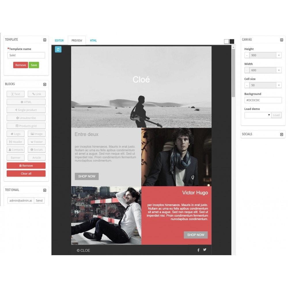module - Newsletter & SMS - Custom Mailer SeoSA - newsletter - 6