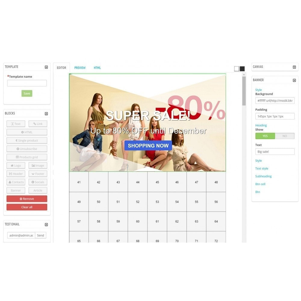 module - Nieuwsbrief & SMS - Custom Mailer SeoSA - newsletter - 9