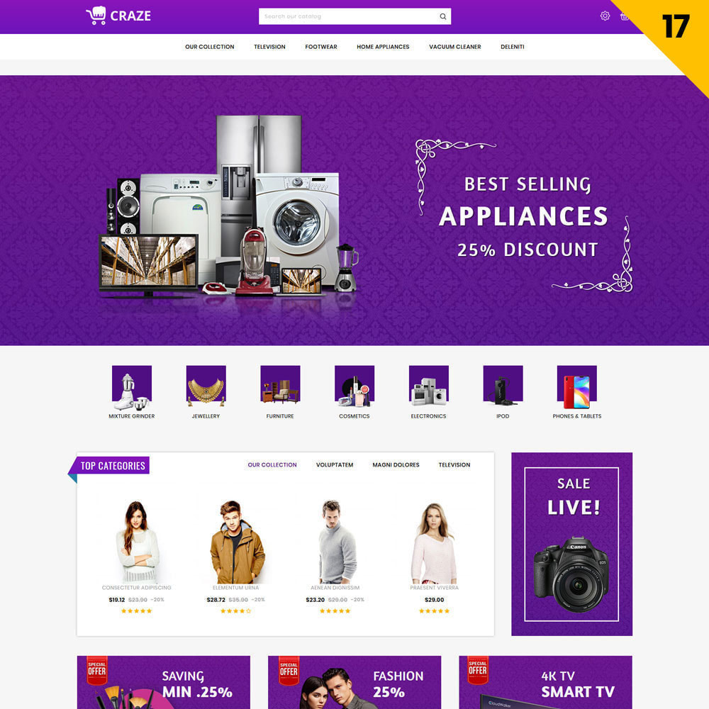 theme - Fashion & Shoes - Craze - The Multipurpose Online Store - 19