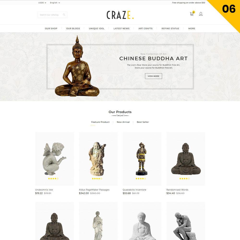 theme - Moda y Calzado - Craze - La tienda en línea multipropósito - 9