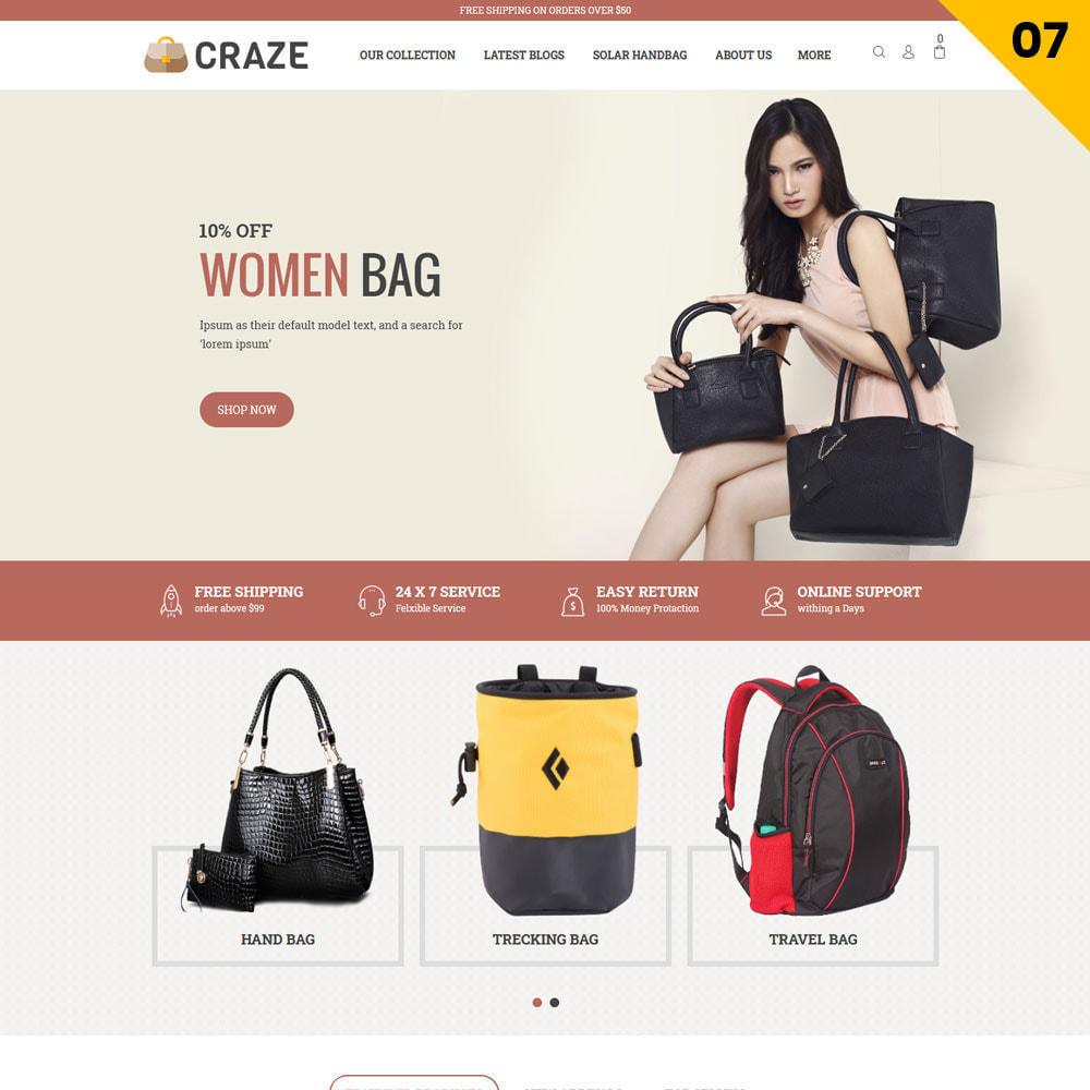 theme - Moda y Calzado - Craze - La tienda en línea multipropósito - 10