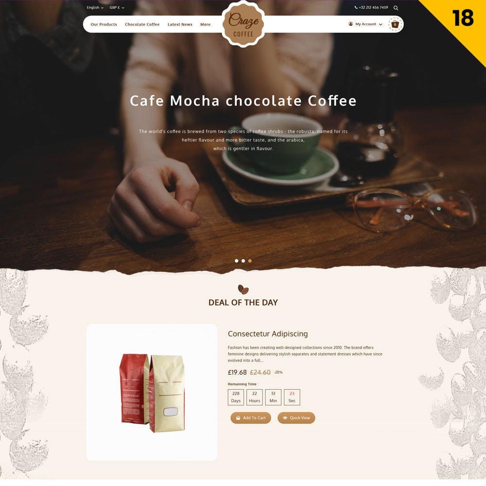 theme - Moda y Calzado - Craze - La tienda en línea multipropósito - 21