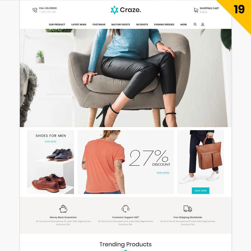 theme - Moda y Calzado - Craze - La tienda en línea multipropósito - 22