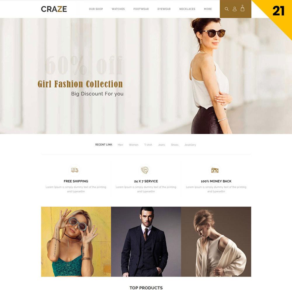 theme - Moda y Calzado - Craze - La tienda en línea multipropósito - 24