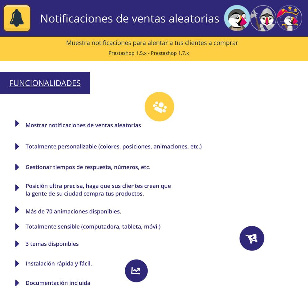module - E-mails y Notificaciones - Notificaciones de ventas aleatorias - 1