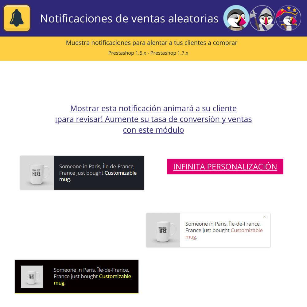 module - E-mails y Notificaciones - Notificaciones de ventas aleatorias - 2