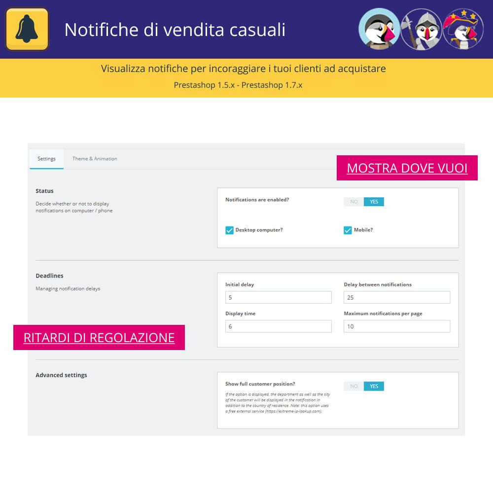 module - Email & Notifiche - Notifiche di vendita casuali - 4