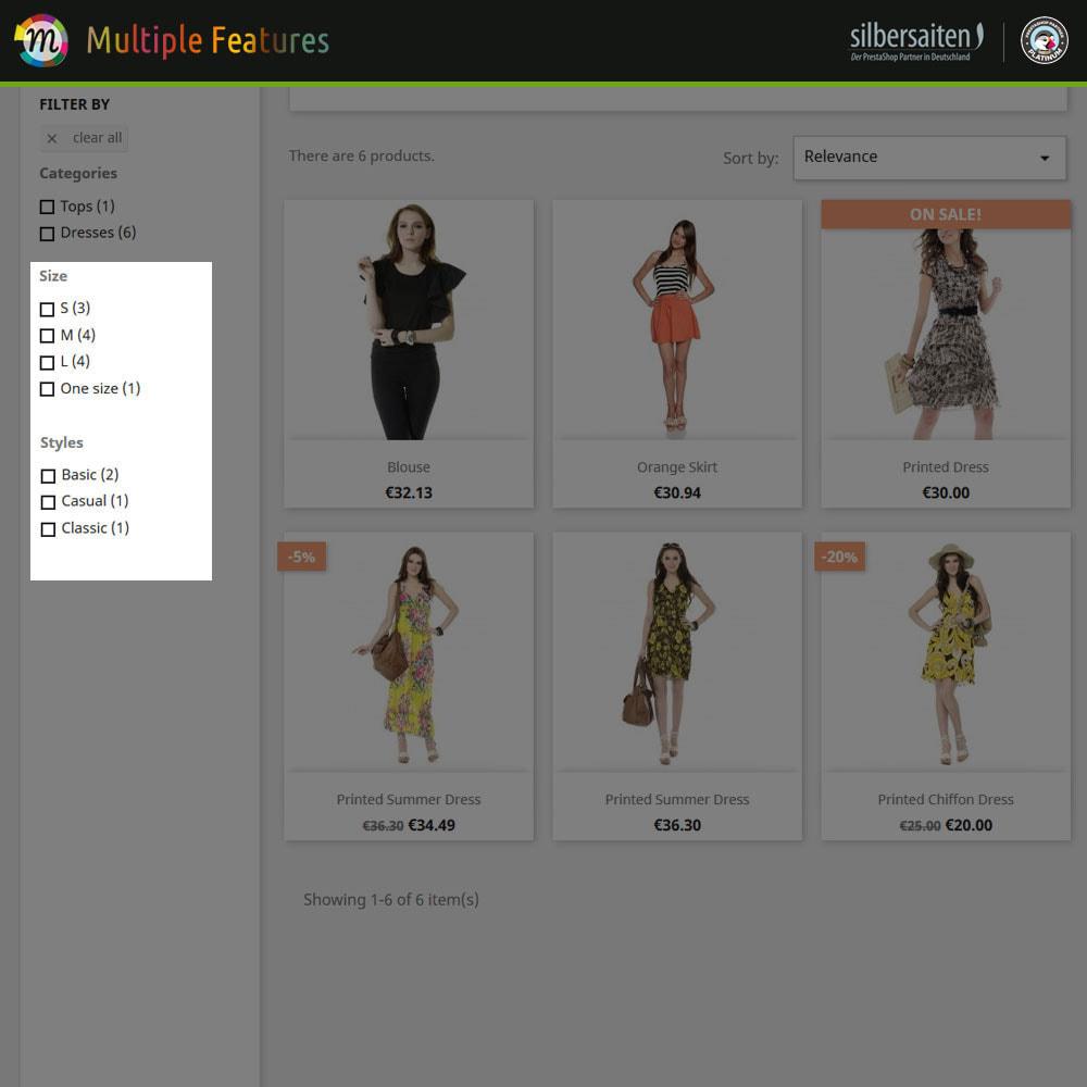 module - Combinazioni & Personalizzazione Prodotti - Diverse caratteristiche del prodotto e importazione - 6