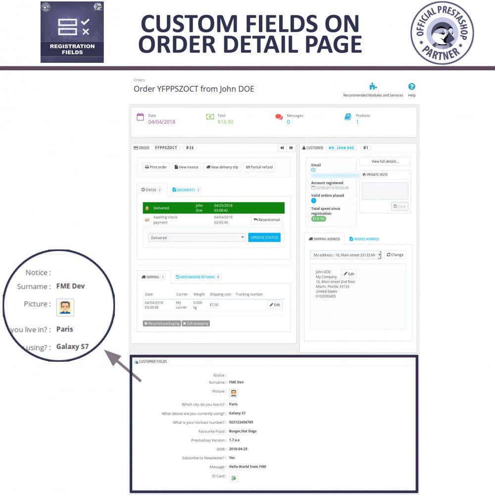 module - Cadastro e Processo de Pedido - Custom Registration Fields - Registration Validation - 7