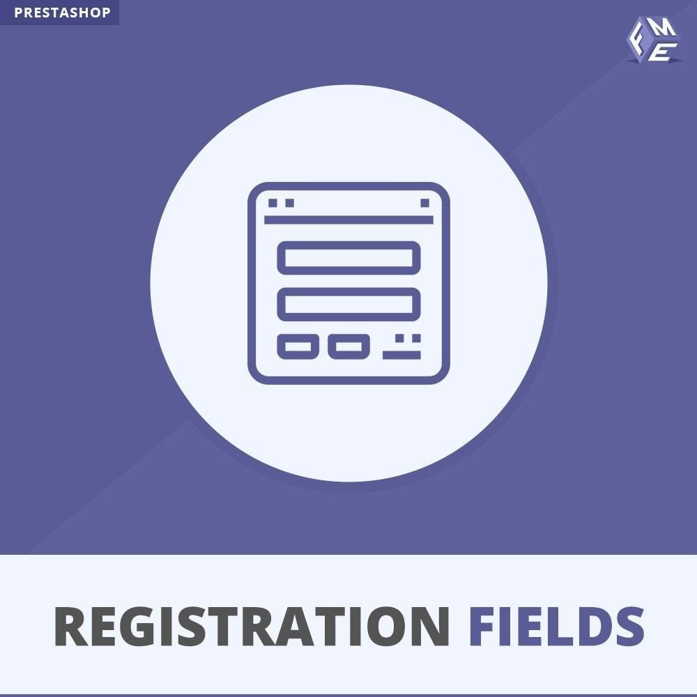 module - Anmeldung und Bestellvorgang - Registrierung Felder, Fügen Sie Kundenattribute - 1