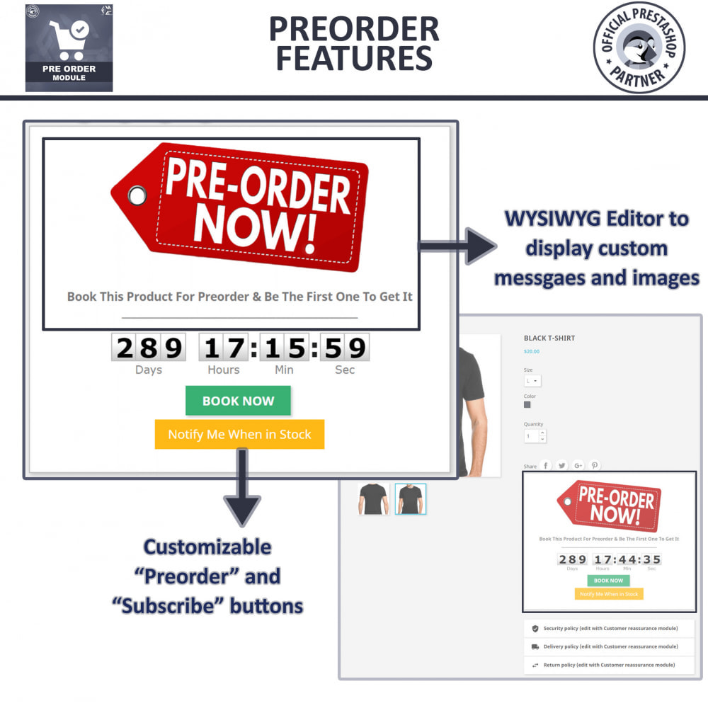 module - Registration & Ordering Process - Pre Order - Advance Booking - 6