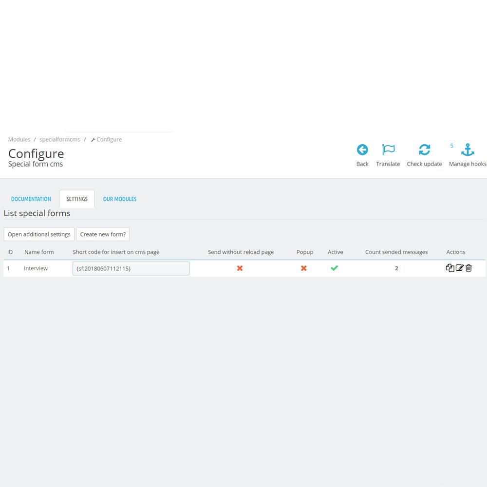 module - Formularz kontaktowy & Ankiety - Niestandardowy formularz / pole na stronie cms - 11