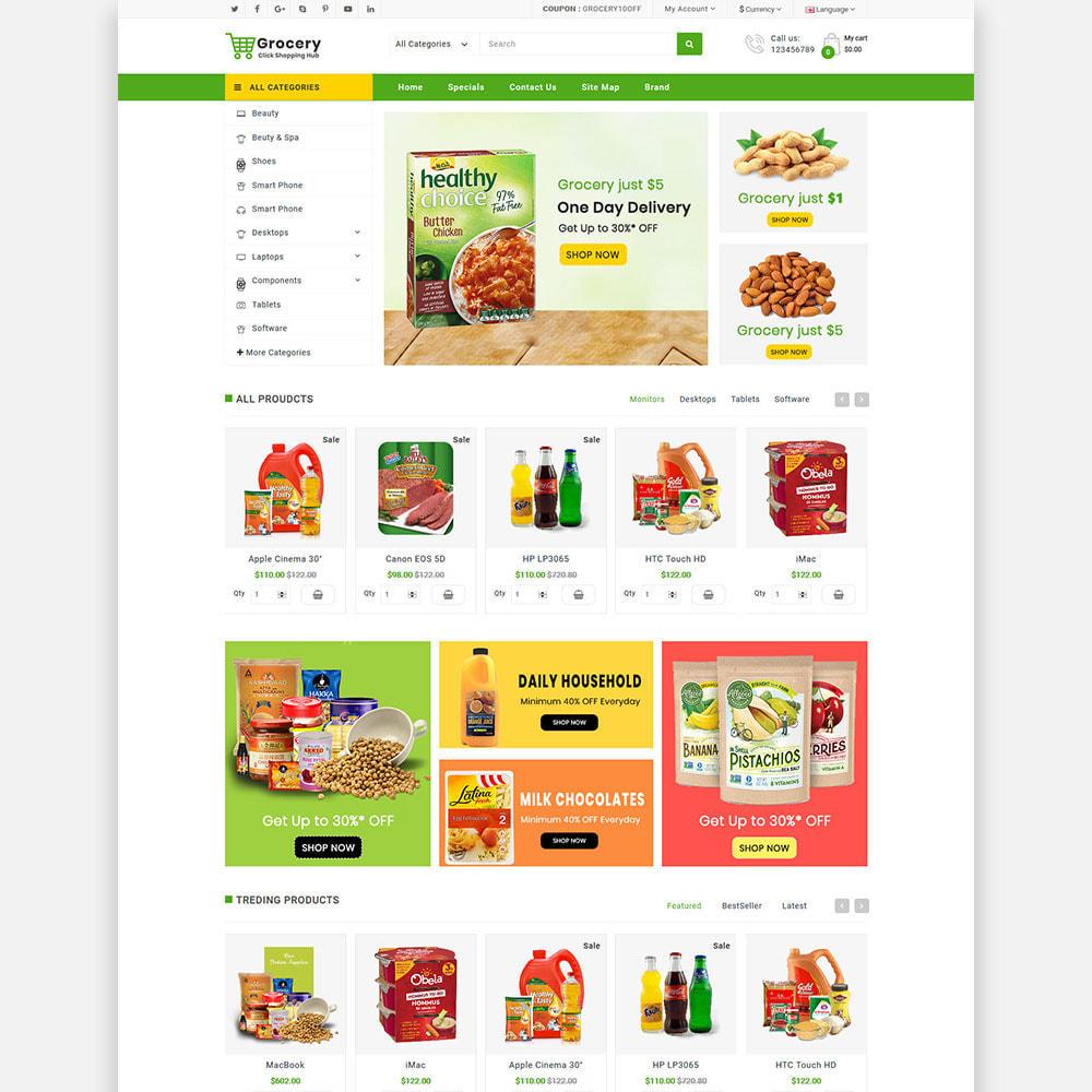theme - Lebensmittel & Restaurants - Grocery Farm and Food shopping Store - 3
