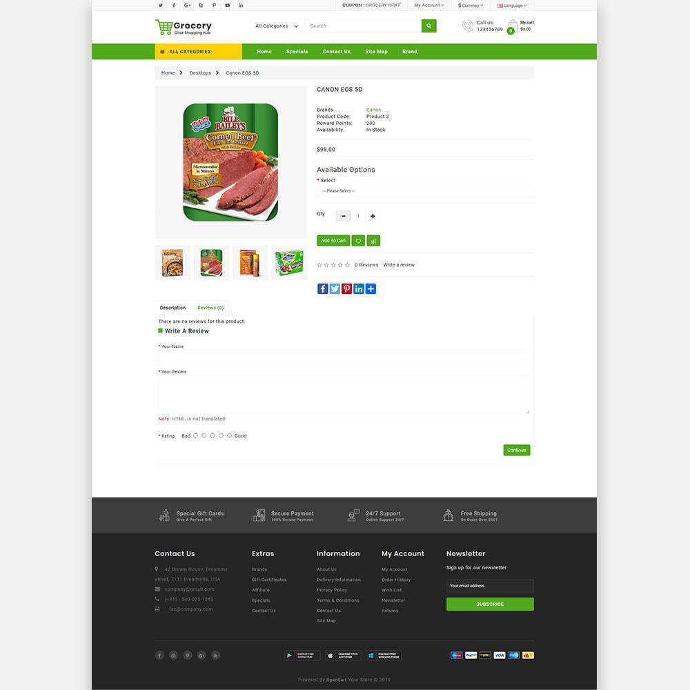 theme - Lebensmittel & Restaurants - Grocery Farm and Food shopping Store - 6
