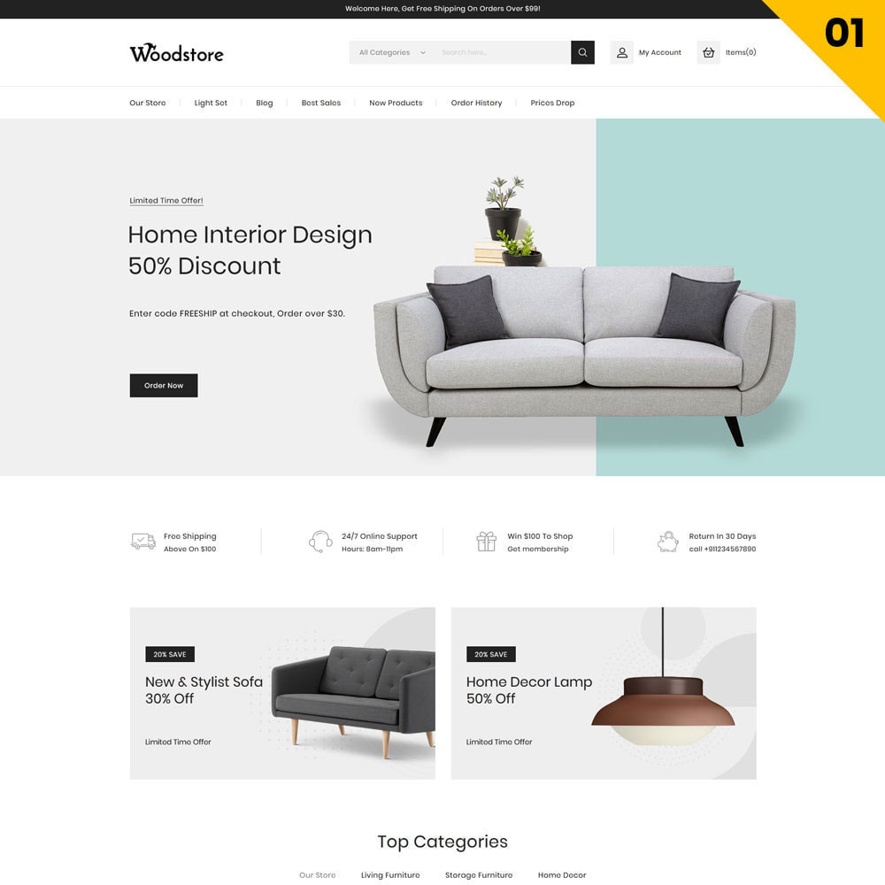 theme - Dom & Ogród - Wood - The Furniture Store - 3