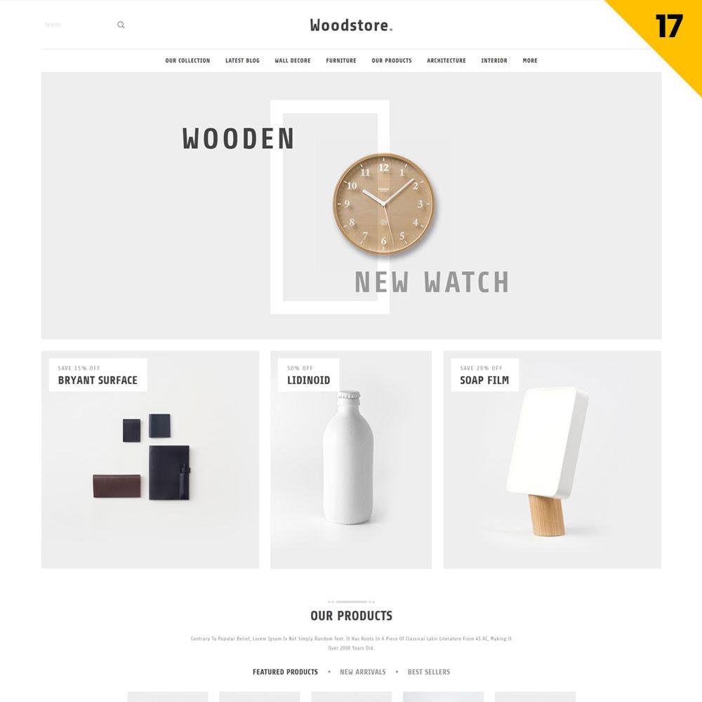 theme - Hogar y Jardín - Wood - la tienda de muebles - 19