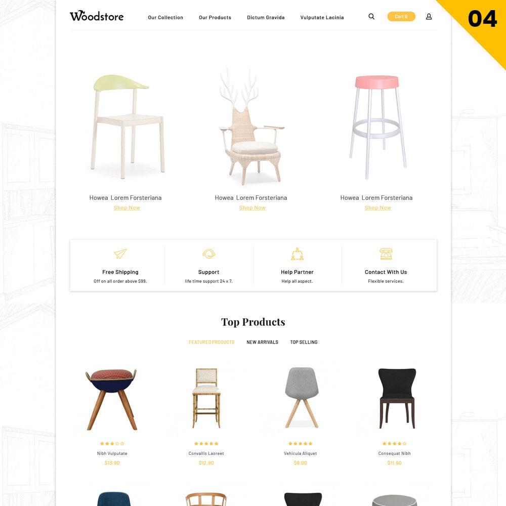 theme - Casa & Giardino - Wood - il negozio di mobili - 7