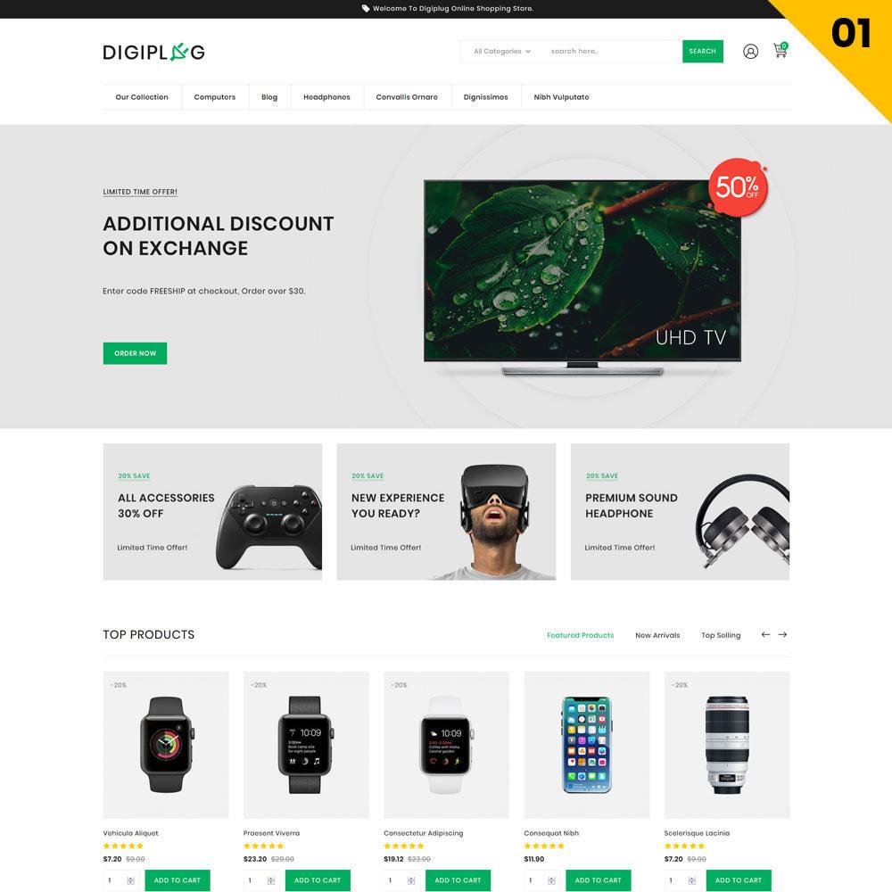 theme - Elettronica & High Tech - Digiplug - Il negozio elettronico - 4
