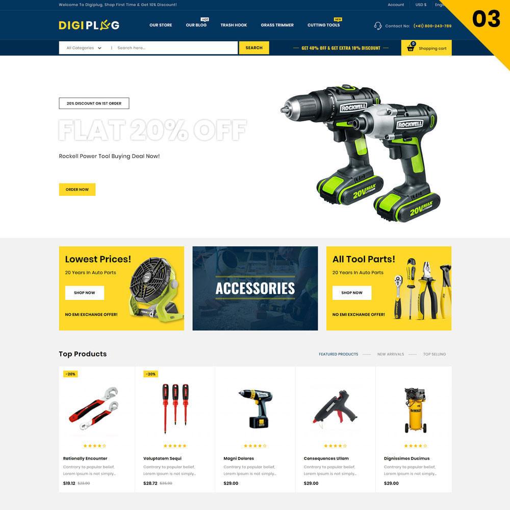 theme - Elettronica & High Tech - Digiplug - Il negozio elettronico - 6