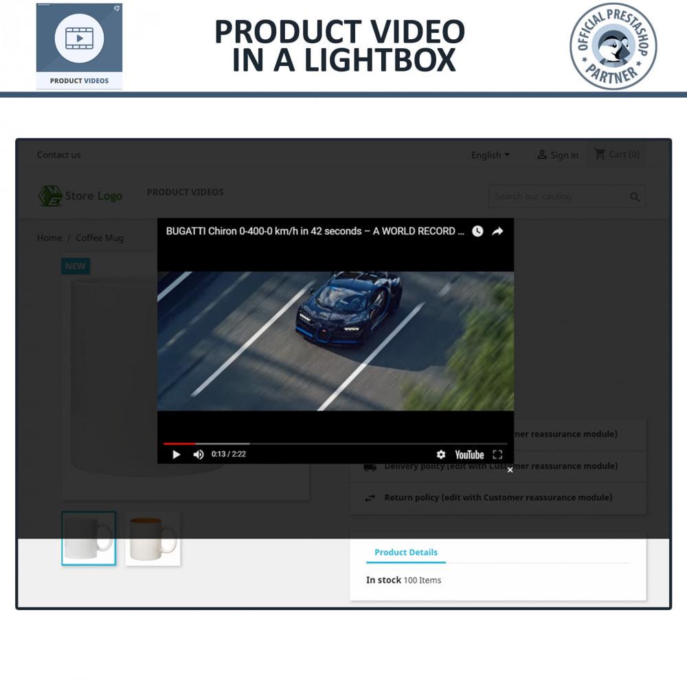 module - Vídeos & Música - Product Videos - Upload or Embed YouTube, Vimeo - 5