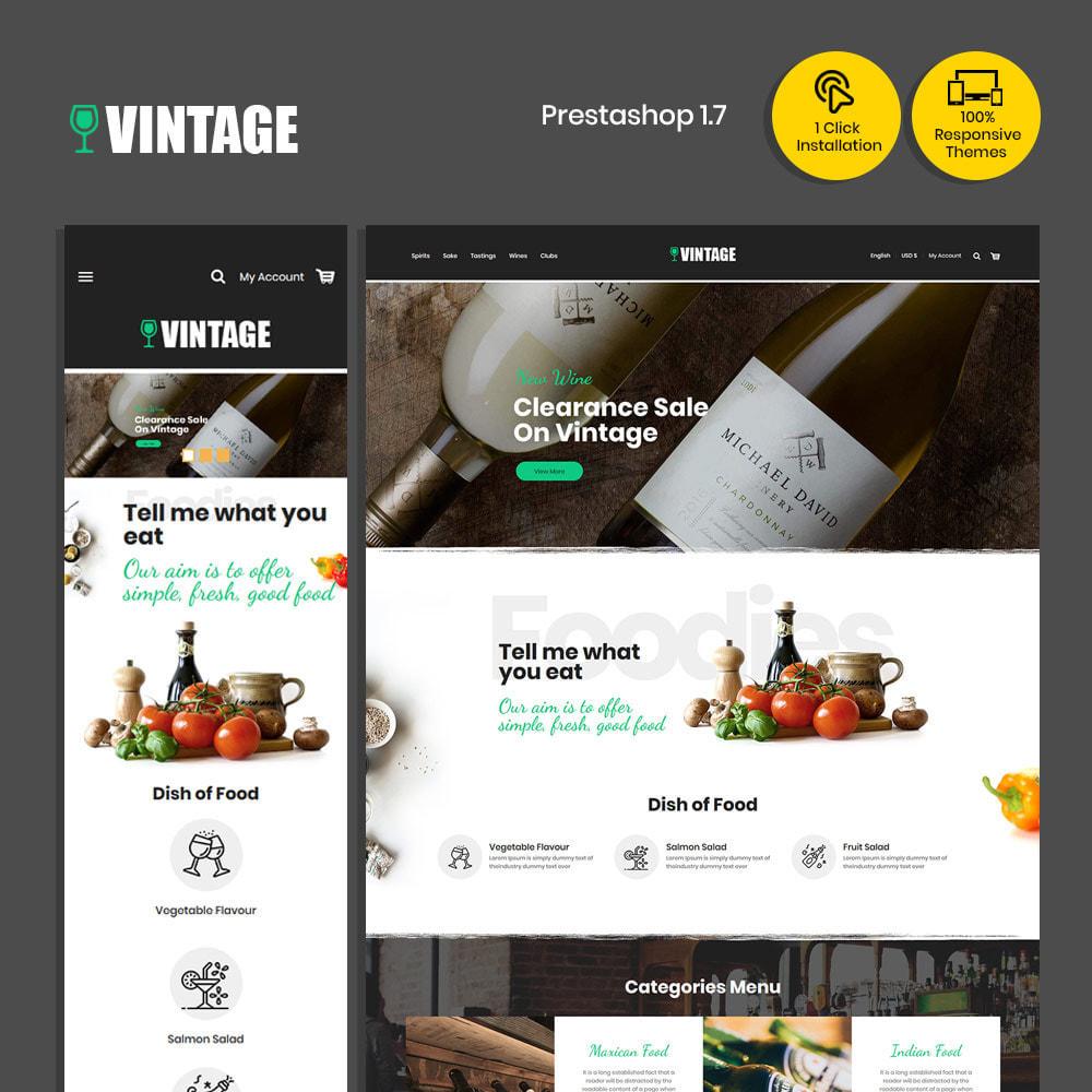 theme - Drink & Tobacco - Vintage Drink  Vigne  -  Beer Wine Store - 1