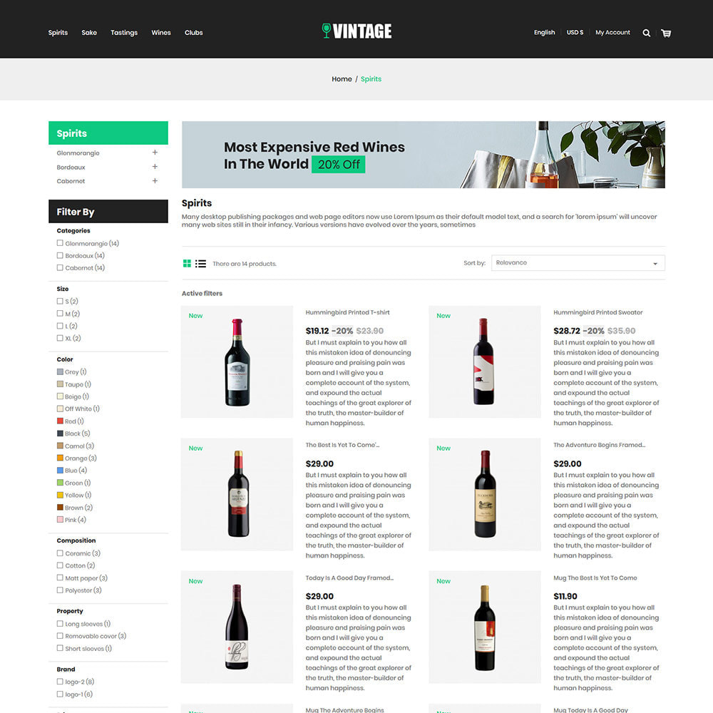theme - Drink & Tobacco - Vintage Drink  Vigne  -  Beer Wine Store - 4