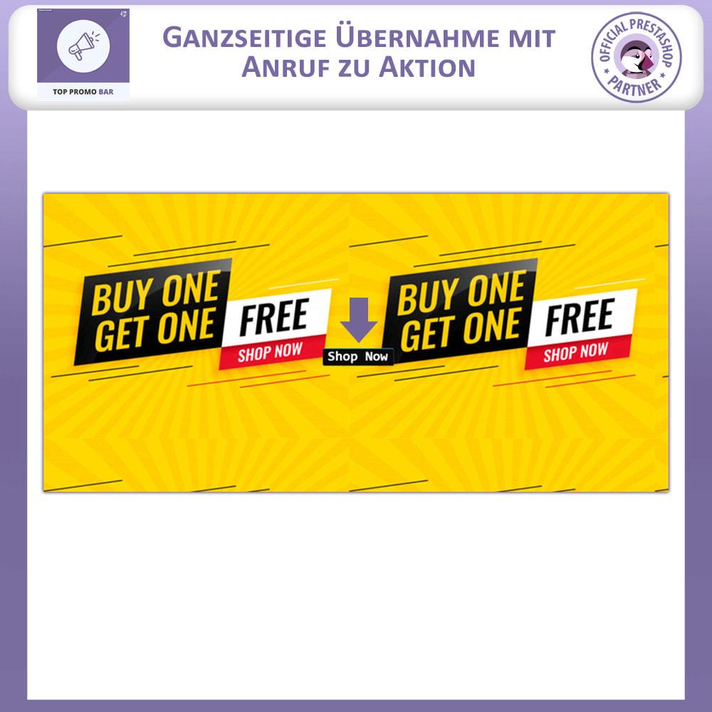 module - Blocks, Reiter & Banner - Top Banner Fortschritt - 2