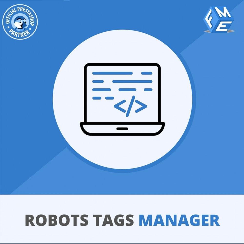 module - SEO (référencement naturel) - Meta Robot Tags - NoFollow NoIndex Manager - 1