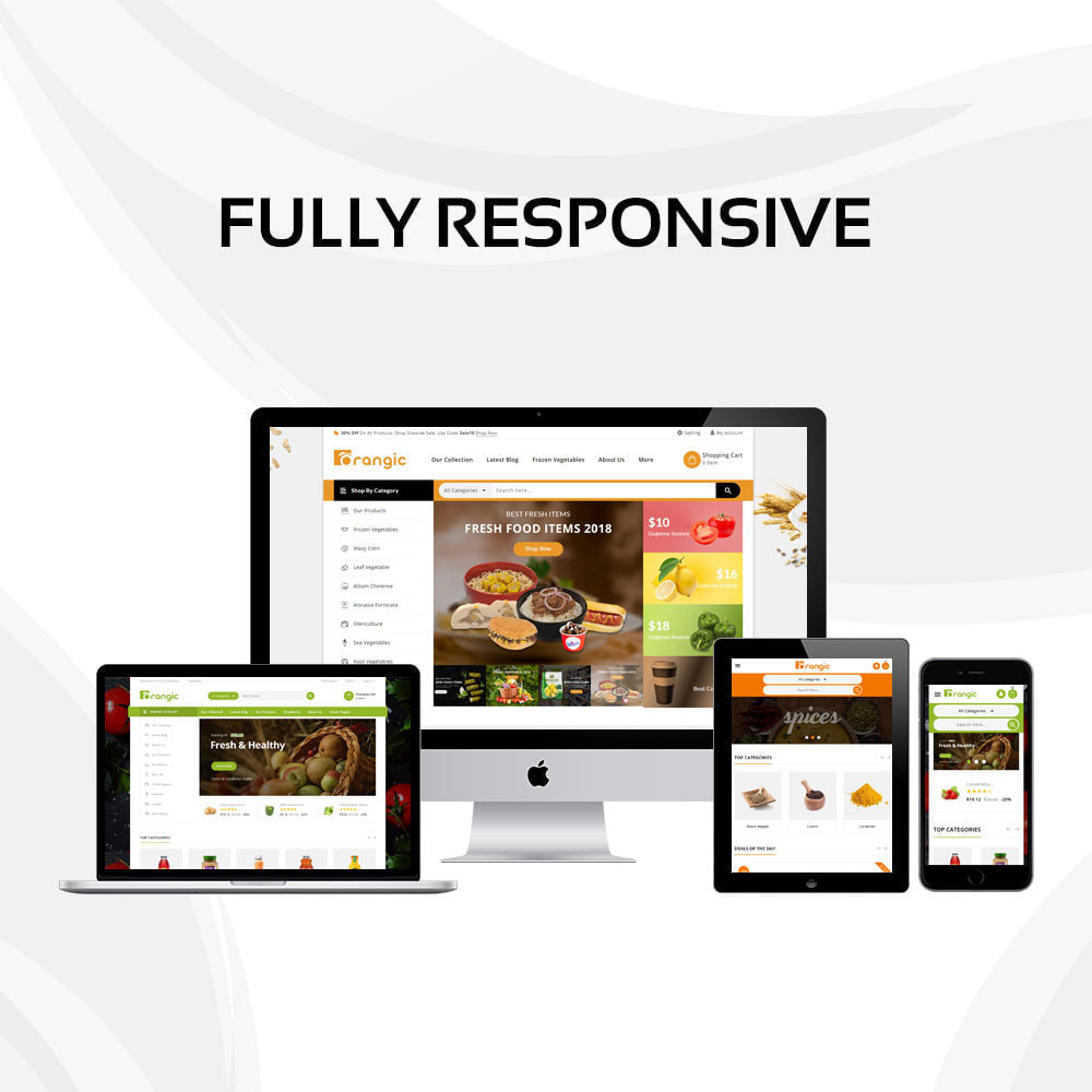 theme - Food & Restaurant - Orangic - The Food Store - 2